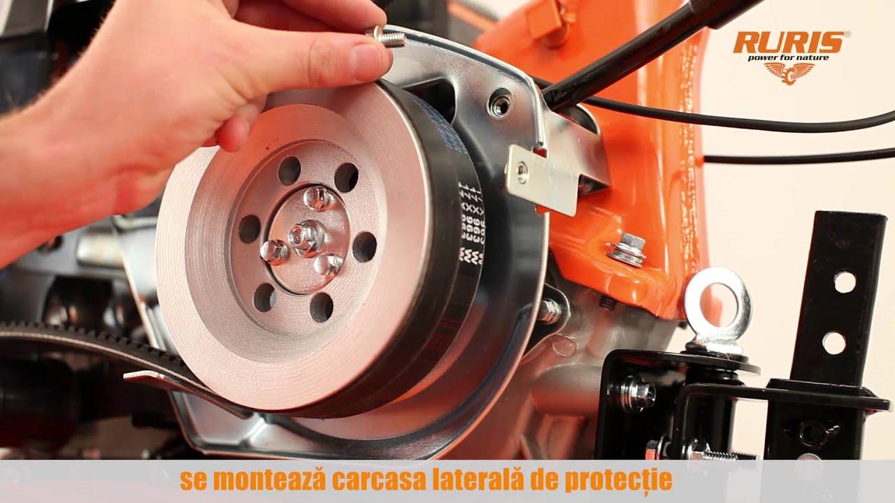 Моторна фреза DAC 7000B Видео 2