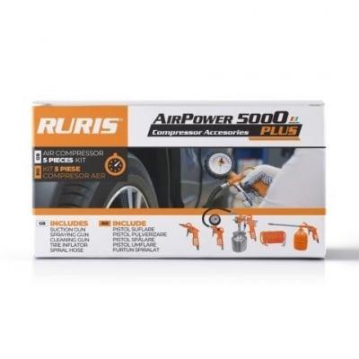 Комплект аксесоари за компресор Ruris AirPower 5000 PLUS Снимка 1