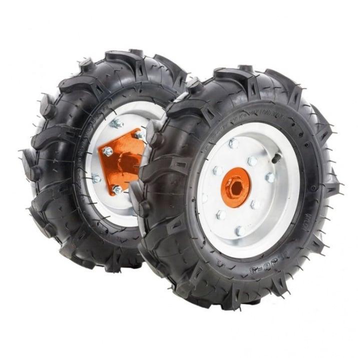 Комплект гумени колела 500x12 TG 320 Снимка 1