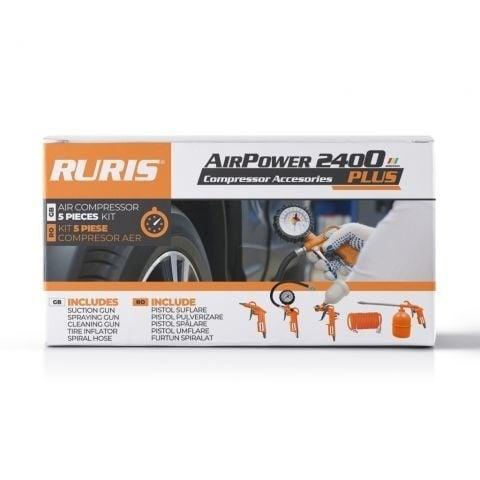 Комплект аксесоари за компресор Ruris AirPower 2400 PLUS Снимка 1